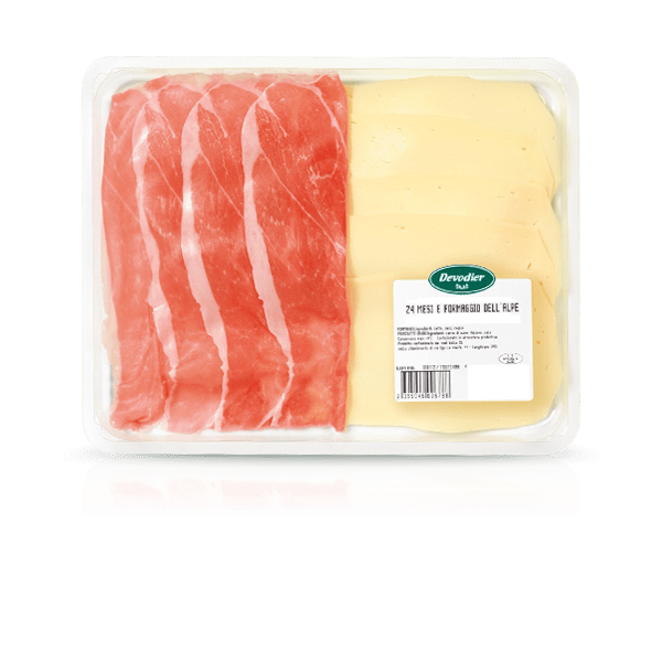 product 24-month Dry-cured Ham and dell'Alpe Cheese